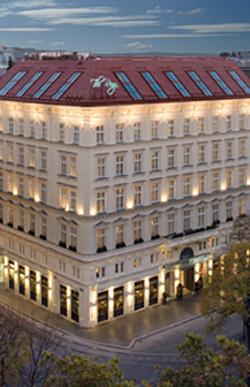hôtel de luxe vienne